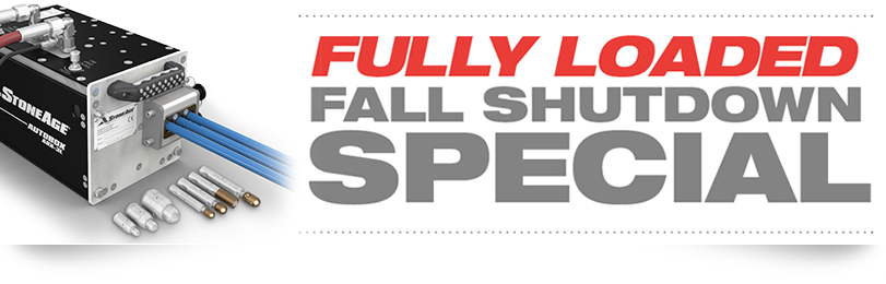 Fully Loaded Fall Shutdown Special