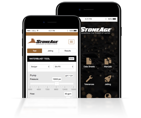StoneAge Jetting App 2.0