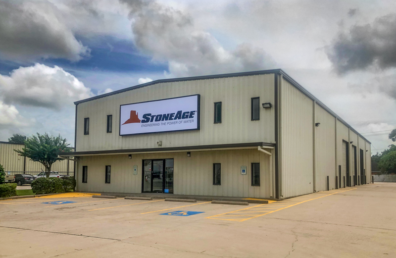 StoneAge Houston office